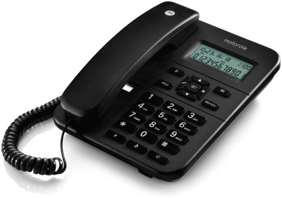 Motorola CT202I Corded Landline Phone (BLACK)