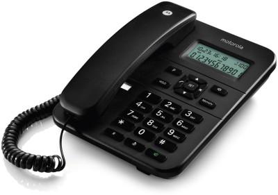 Motorola CT202I Corded Landline Phone (BLACK)