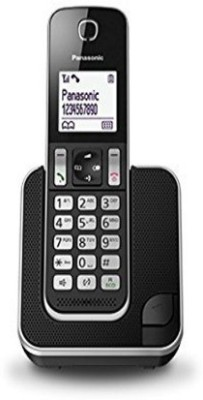 Panasonic KX-TGD310BX Cordless Landline Phone (Black)