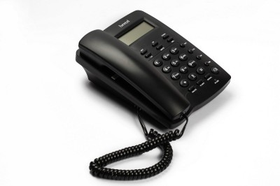 Beetel M 56 Corded Landline Phone (Black)