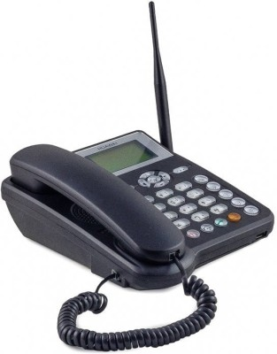 Huawei ETS 5623 SIM Card enabled Rechargeable Cordless Landline Phone (Black)