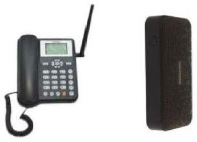 Huawei ETS5623 Cordless Landline with 5200mAh USB Portable Power Supply Free Cordless Landline Phone (Black)