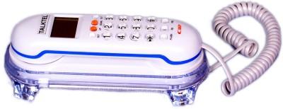 Talktel F-3 WH Corded Landline Phone (White)