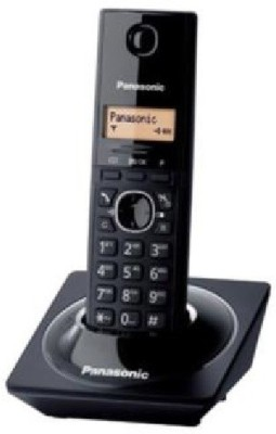 Panasonic KX-TG1711 Cordless Landline Phone (Black)