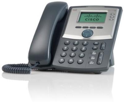 Cisco Spa 303 3-Line Ip Phone Corded & Cordless Landline Phone (Black)