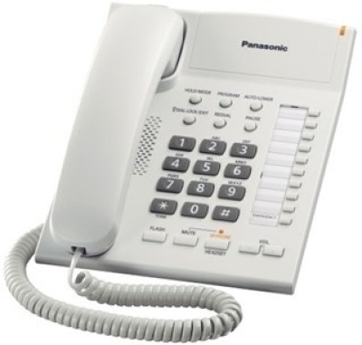 Panasonic KX-TS840SX Corded Landline Phone (White)