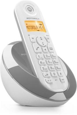 Motorola MC601 Cordless Landline Phone (White)
