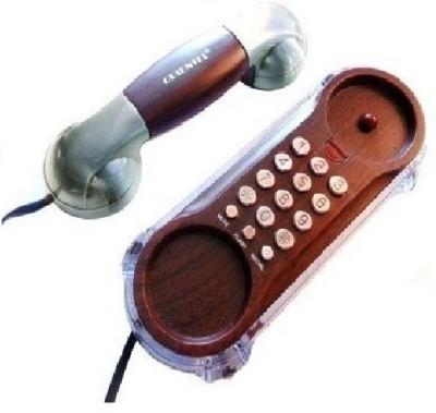 istore Orientel Caller ID Phone Kx-T777 Corded Landline Phone (Braun)