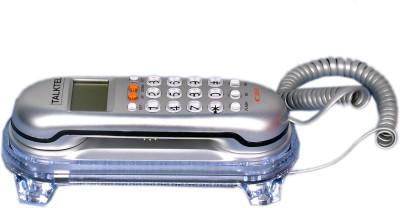 Talktel F-3 SL Corded Landline Phone (Silver)