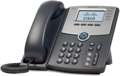 Cisco SPA 504G 4-Line IP Phone Corded Landline Phone (Black)