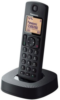 Panasonic KX-TGC310 Cordless Landline Phone (Black)