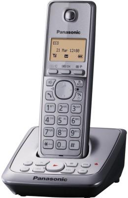 Panasonic KX-TG2721BX Cordless Landline Phone (Silver)