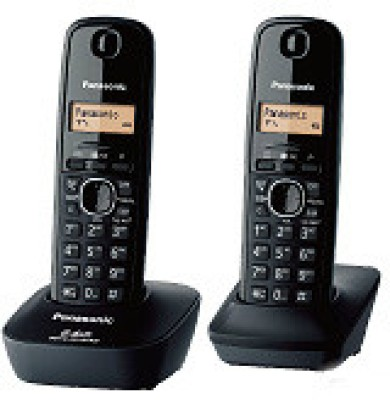 Panasonic KXTG3412 BXH Cordless Landline Phone (Black)