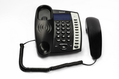 Beetel M60 Corded Landline Phone (Black)