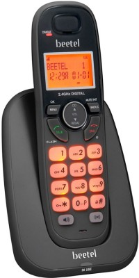 Beetel X70 Cordless Landline Phone with Answering Machine (Black)