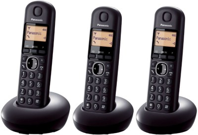 Panasonic KXTGB213 Cordless Landline Phone (black)