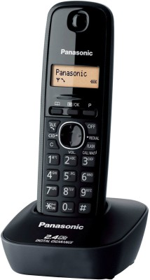 Panasonic KX-TG3411SXH Cordless Landline Phone (Black)