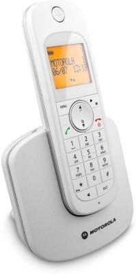 MOTOROLA D1001I Cordless Landline Phone (WHITE)