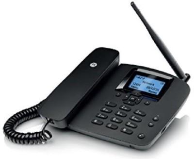 MOTOROLA FW200L Corded Landline Phone (BLACK)