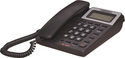 Talktel F-5 Bl Corded Landline Phone (Black)