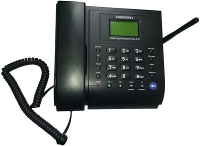 Visiontek 21G Corded & Cordless Landline Phone (Black)
