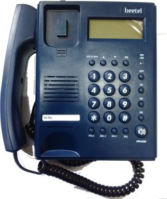 Beetel M53N Corded Landline Phone (Blue)