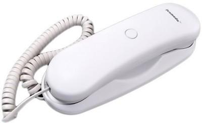 Pramoda PT-11 Corded Landline Phone (White)