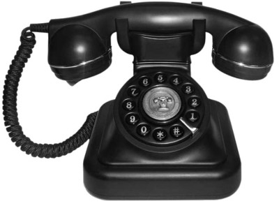 Swiss Voice Vintage 20 Corded Landline Phone (Black)