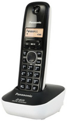 Panasonic KX-TG3411SX Cordless Landline Phone (White)
