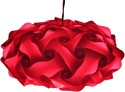Somya Leger Polypropylene Lantern - Red, Pack Of 1