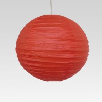 DholDhamaka.com Paper Lantern (Red, Pack Of 1)