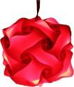 Somya Leger Polypropylene Lantern - Red, Pack Of 1 - LTNE2GZYHG6U3BEN