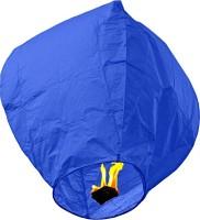 Skycandle Blue Paper Sky Lantern (80 Cm X 45 Cm, Pack Of 15)