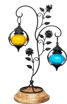 Indian Handicrafts Company Multicolor Iron Lantern For Rs 850 At
