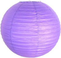 Urban Lifestyle Earthy Paper Lantern (Purple, Pack Of 1)