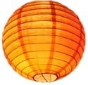 E-plant Paper Lantern - Orange, Pack Of 1