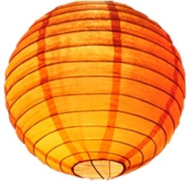 E-plant Paper Lantern - Orange, Pack Of 1