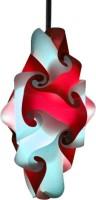 Sigma Lamp Polypropylene Lantern (Red, White, Pack Of 1)
