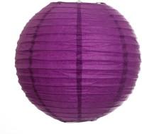 Skycandle 12″ Round Craft Paper Lantern (Purple, Pack Of 3)