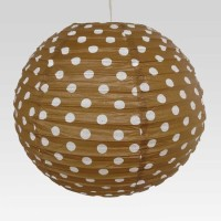 Christmastreeshops.in Brown Paper Lantern (40.64 Cm X 40.64 Cm, Pack Of 1)