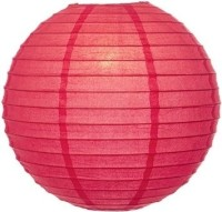 Urban Lifestyle Earthy Paper Lantern (Red, Pack Of 1)