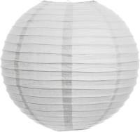 Skycandle 12″ Round Craft Paper Lantern (White, Pack Of 2)