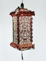 Elegant Multicolor Paper Lantern (43.18 Cm X 22.86 Cm, Pack Of 1)