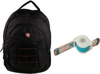 QP360 Laptop Bag And Usb Charge And Sync Cable For Smart ,Iphones Combo Set (Black, Blue)