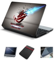 Psycho Art Asus Rog Republic Of Gamers Shattered Explosion Combo Set (Multicolor)