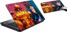 meSleep Monument King Laptop Skin 197 Combo Set