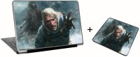 Aurra Duke Nukem (Character) Laptop Skin And Mousepad Skin Combo Set Combo Set (Multicolor)