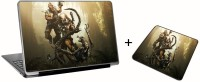 Aurra Bryan Fury Laptop Skin And Mousepad Skin Combo Set Combo Set (Multicolor)