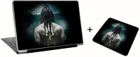 Aurra Shiv Ji Laptop Skin And Mousepad Skin Combo Set Combo Set (Multicolor)