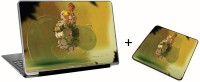 Aurra Cole Macgrath Laptop Skin And Mousepad Skin Combo Set Combo Set (Multicolor)